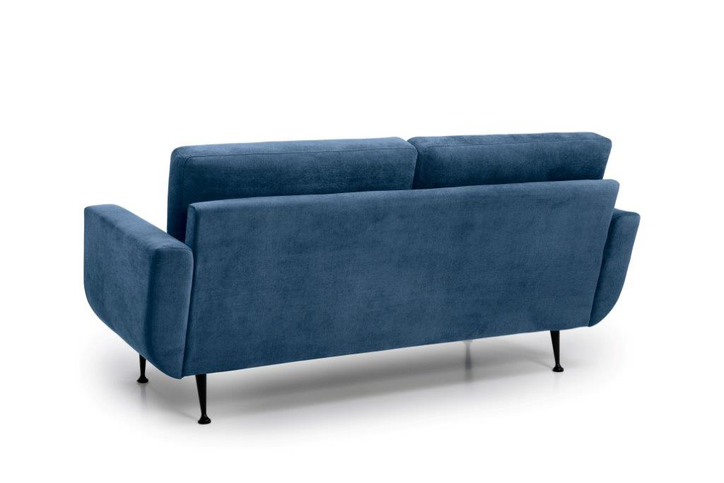 FLY 2 seater (Orinoco 16 blue) back softnord soft nord scandinavian style furniture modern interior design sofa bed chair pouf upholstery