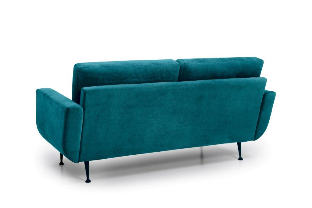 FLY 2 seater (Orinoco 30 petrol) back softnord soft nord scandinavian style furniture modern interior design sofa bed chair pouf upholstery