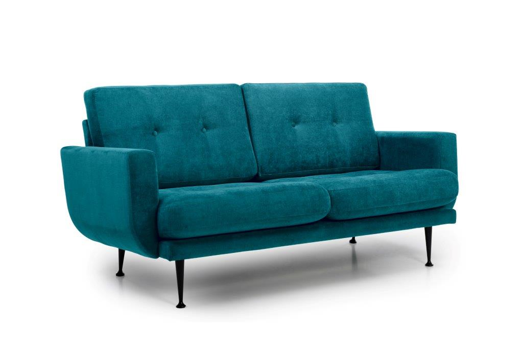 FLY 2 seater (Orinoco 30 petrol) side softnord soft nord scandinavian style furniture modern interior design sofa bed chair pouf upholstery