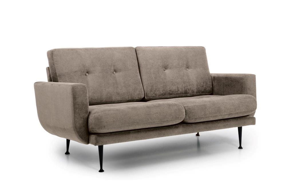 FLY 2 seater (Orinoco 4 sand) side softnord soft nord scandinavian style furniture modern interior design sofa bed chair pouf upholstery