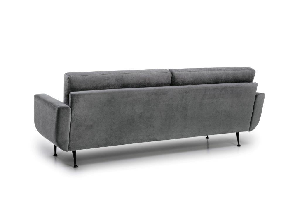 FLY 3 seater (Orinoco 3_1 light grey) back softnord soft nord scandinavian style furniture modern interior design sofa bed chair pouf upholstery