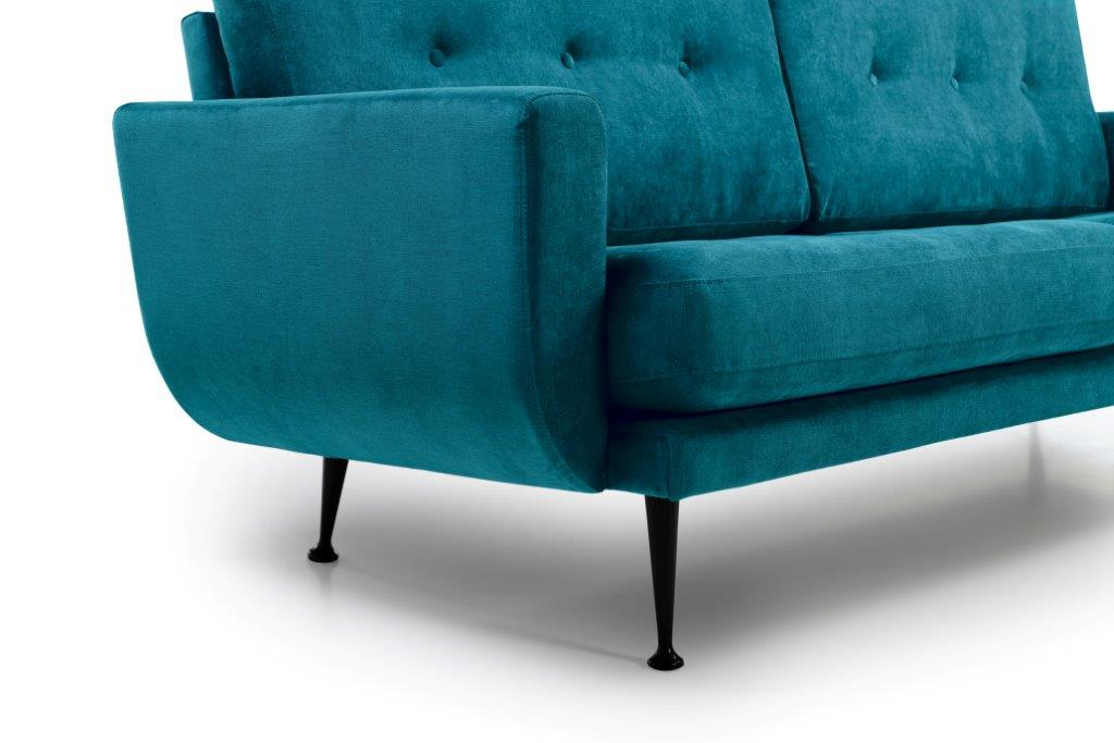 FLY (Orinoco 30 petrol) arm + leg softnord soft nord scandinavian style furniture modern interior design sofa bed chair pouf upholstery