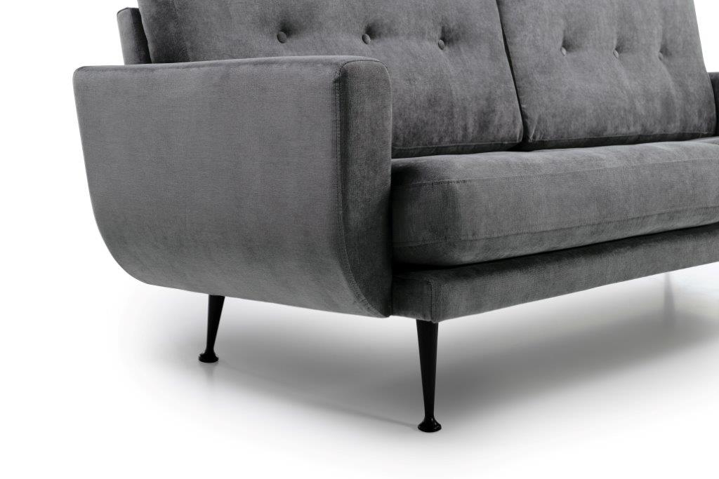 FLY (Orinoco 3_1 light grey) arm + leg softnord soft nord scandinavian style furniture modern interior design sofa bed chair pouf upholstery