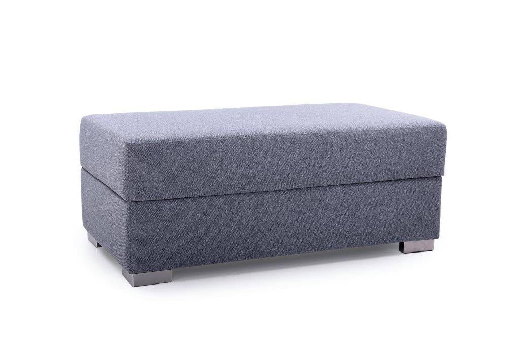 ML pouf with storage (AMIGO 3 grey) side softnord soft nord scandinavian style furniture modern interior design sofa bed chair pouf upholstery