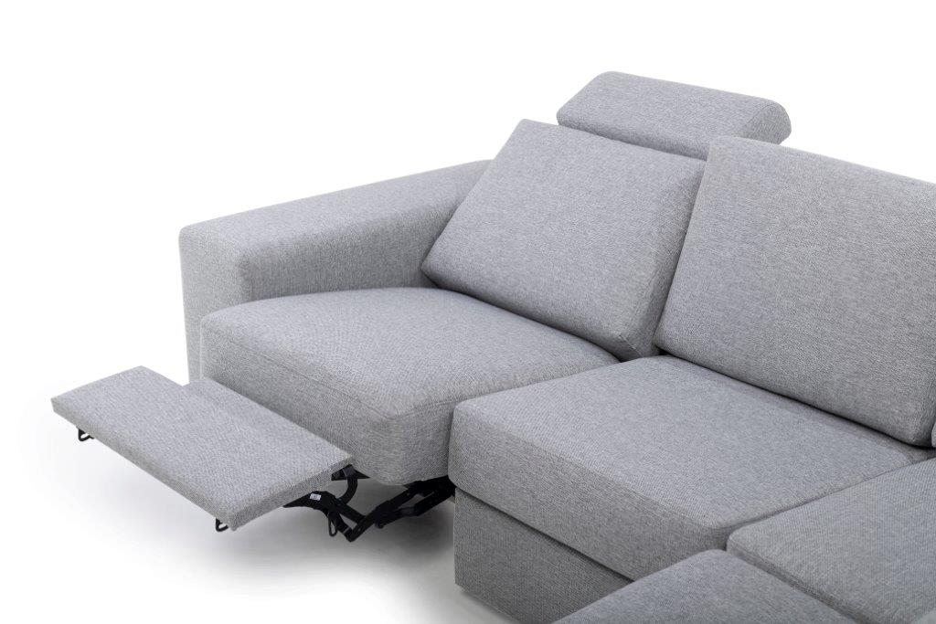 ML recliner open corner (LINDT 3-2) detail softnord soft nord scandinavian style furniture modern interior design sofa bed chair pouf upholstery