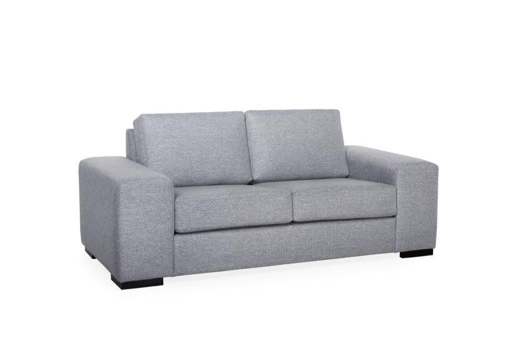 MODERN LIVING 2 seater (LINDT 3_2 dark grey) (4) softnord soft nord scandinavian style furniture modern interior design sofa bed chair pouf upholstery