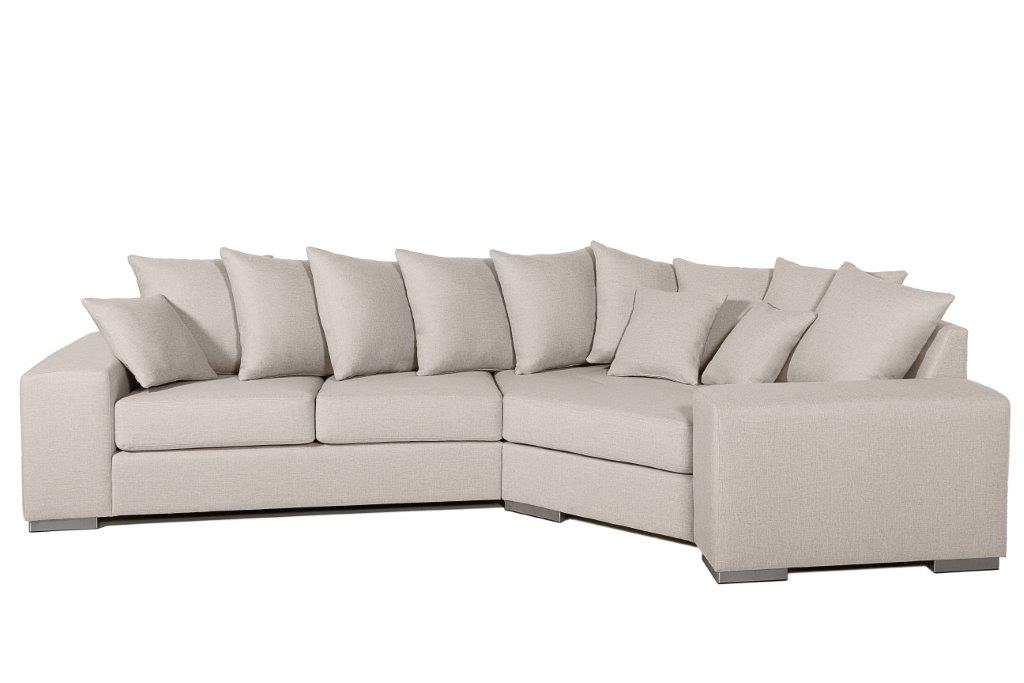 MODERN LIVING cosy corner (LINDT 8 beige) (1) softnord soft nord scandinavian style furniture modern interior design sofa bed chair pouf upholstery
