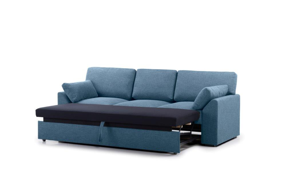 NEW MS 3 seater arm G (WESTER 16 blue) side open