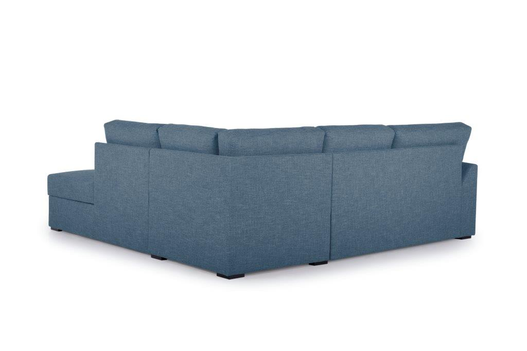 NEW MS open corner with 2 seater arm G (WESTER 16 blue) back