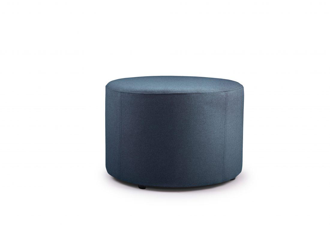 RONDO pouf (Verona 16-2 dark blue)