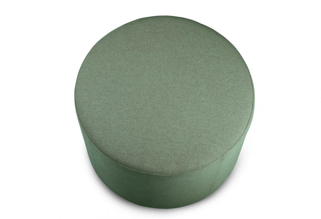 RONDO pouf (Verona 17 green) top