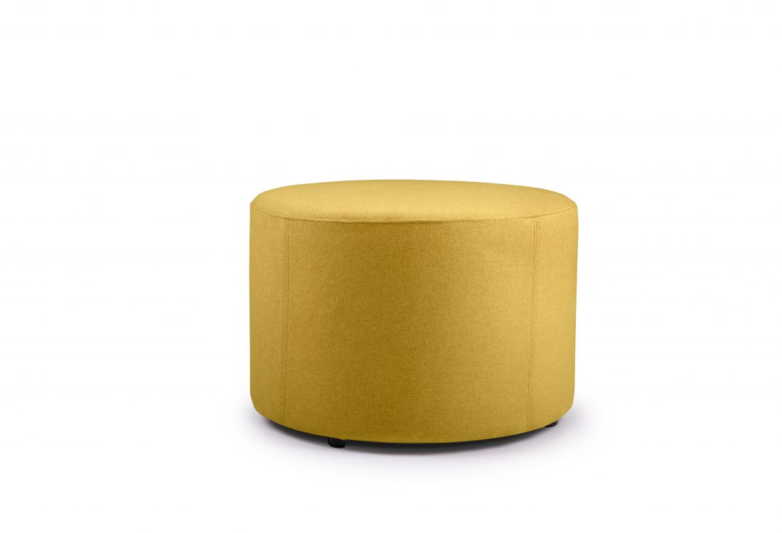 RONDO pouf (Verona 23 yellow)