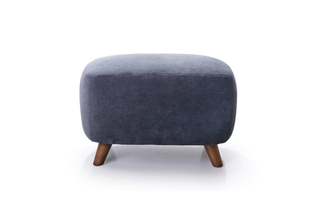 SLOPE pouf (ORINOCO 7 antrazite) softnord soft nord scandinavian style furniture modern interior design sofa bed chair pouf upholstery