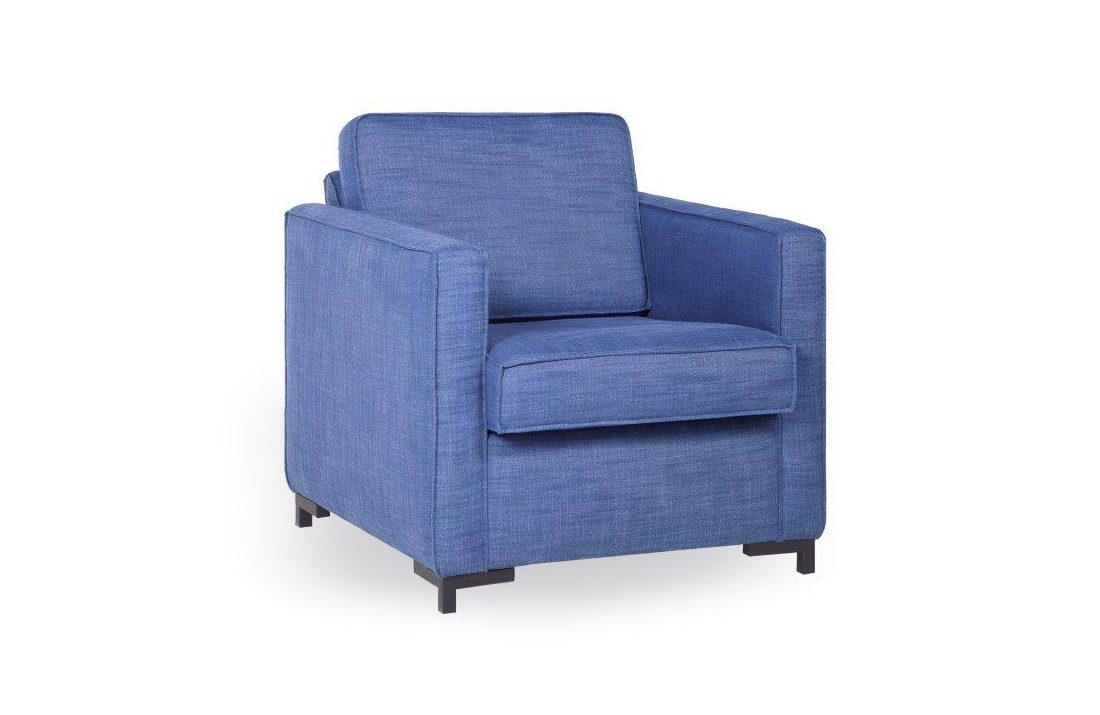 SOHO chair (LIEPA blue) softnord soft nord scandinavian style furniture modern interior design sofa bed chair pouf upholstery