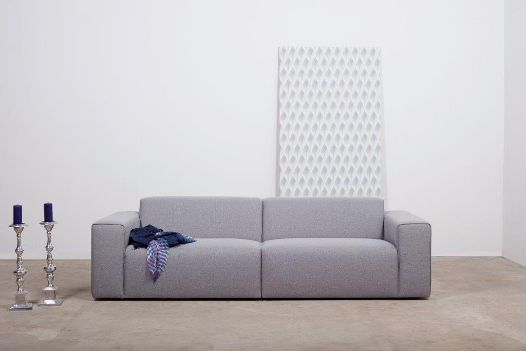 STING 1.5+1.5 (PLATIN 3 grey) softnord soft nord scandinavian style furniture modern interior design sofa bed chair pouf upholstery