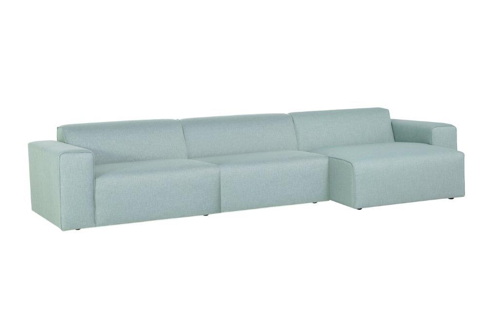 STING 1.5+1.5+chaiselongue softnord soft nord scandinavian style furniture modern interior design sofa bed chair pouf upholstery