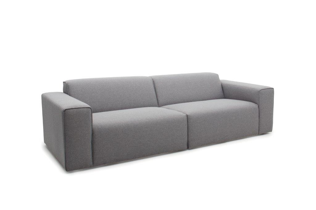 STING 3 seater (PLATIN 3 grey)-softnord soft nord scandinavian style furniture modern interior design sofa bed chair pouf upholstery