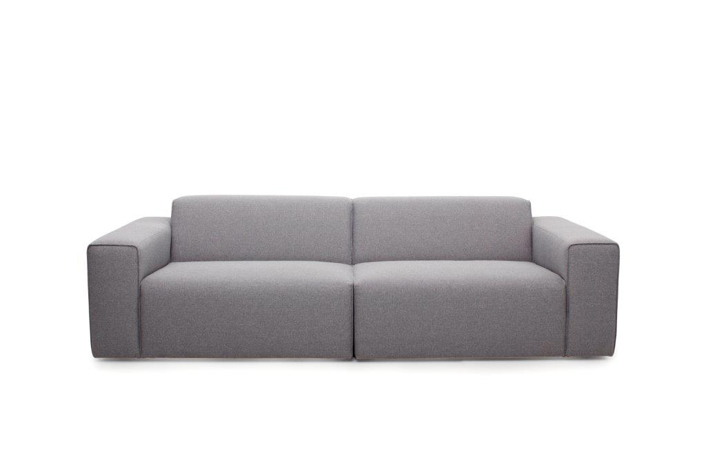 STING 3 seater (PLATIN 3 grey) softnord soft nord scandinavian style furniture modern interior design sofa bed chair pouf upholstery