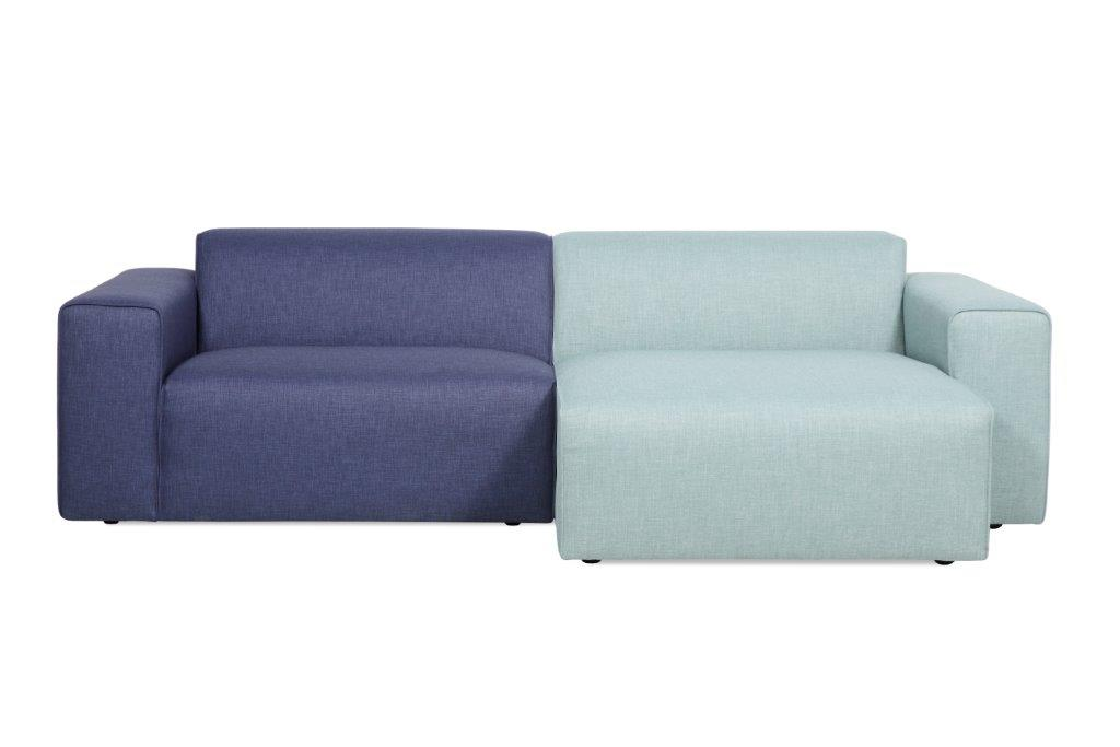 STING chaiselongue (LIDO tren blue_sapphire) softnord soft nord scandinavian style furniture modern interior design sofa bed chair pouf upholstery