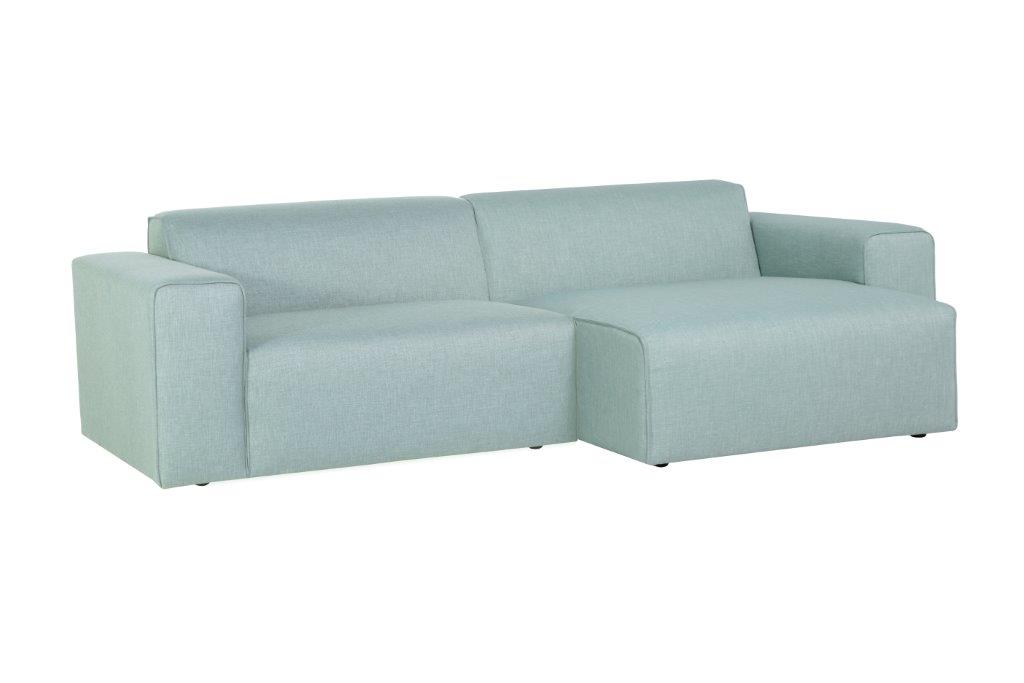 STING chaiselongue (LIDO trend sapphire) softnord soft nord scandinavian style furniture modern interior design sofa bed chair pouf upholstery