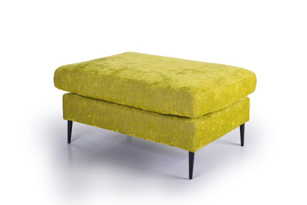 ADAGIO pouf (SOFT 17.1 light green) side softnord soft nord scandinavian style furniture modern interior design sofa bed chair pouf upholstery