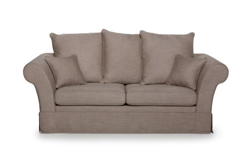 BARCELONA 3 seater (LIEPA 14 latte) softnord soft nord scandinavian style furniture interior design sofa bed chair