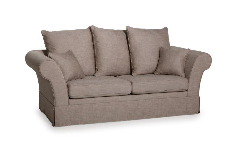 BARCELONA 3 seater (LIEPA 14 latte)-softnord soft nord scandinavian style furniture interior design sofa bed chair