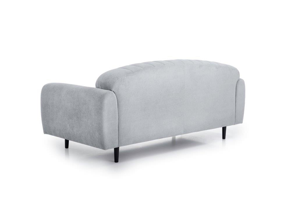 CADILLO 2,5-seater (ORINOCO 22_1 light silver) back softnord soft nord scandinavian style furniture modern interior design sofa bed chair pouf upholstery