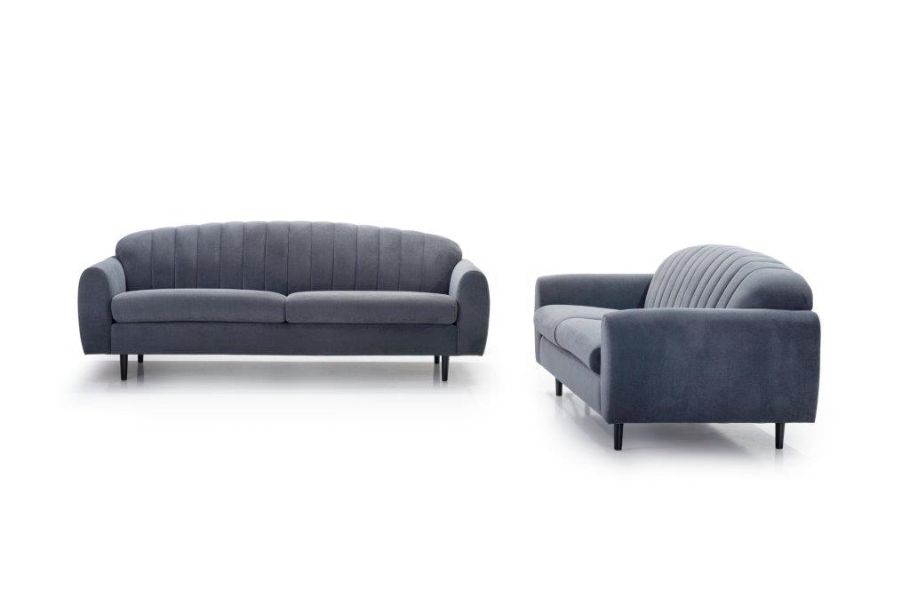 CADILLO 2,5+3 (ORINOCO 7 antrazite)-softnord soft nord scandinavian style furniture modern interior design sofa bed chair pouf upholstery
