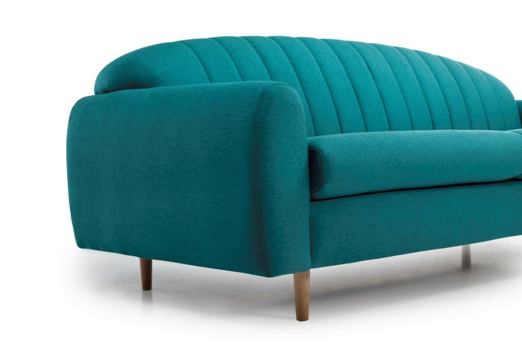 CADILLO 3 seater (FAME 30 petrol) arm+leg softnord soft nord scandinavian style furniture modern interior design sofa bed chair pouf upholstery