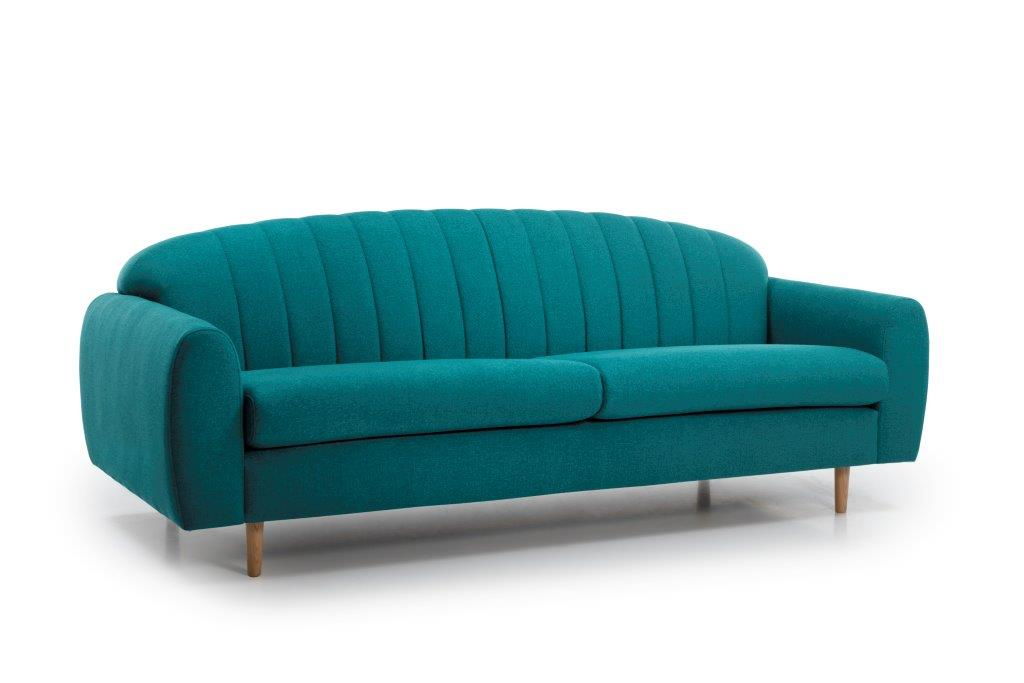 CADILLO 3 seater (FAME 30 petrol) side softnord soft nord scandinavian style furniture modern interior design sofa bed chair pouf upholstery