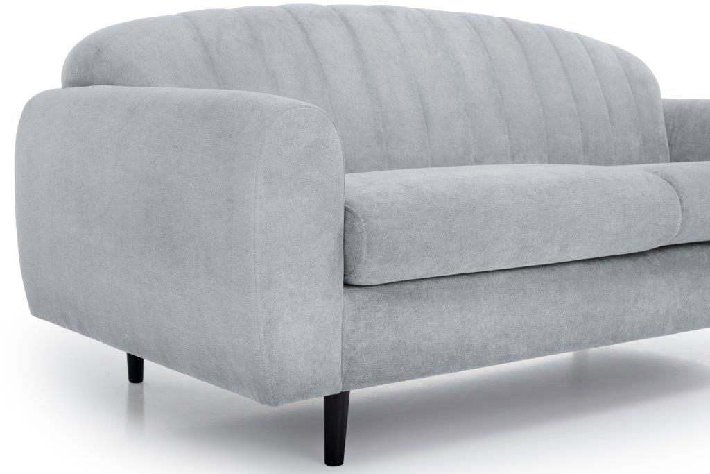 CADILLO (ORINOCO 22_1 light silver) detail softnord soft nord scandinavian style furniture modern interior design sofa bed chair pouf upholstery