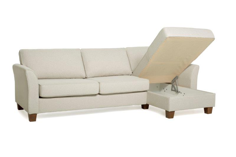 CARLSON chaiselongue ( PLATIN 8 beige)softnord soft nord scandinavian style-furniture interior design sofa bed chair pouf