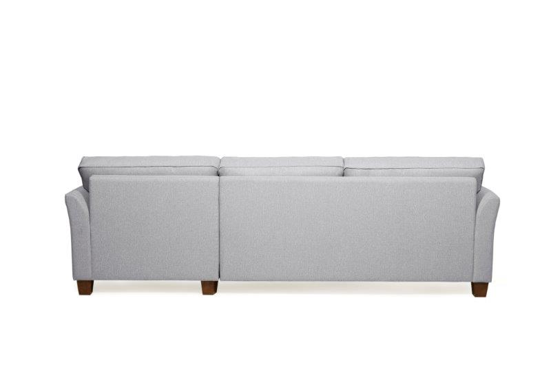 CARLSON chaiselongue (TROY 3 grey) softnord soft nord- scandinavian style-furniture interior design sofa bed chair pouf