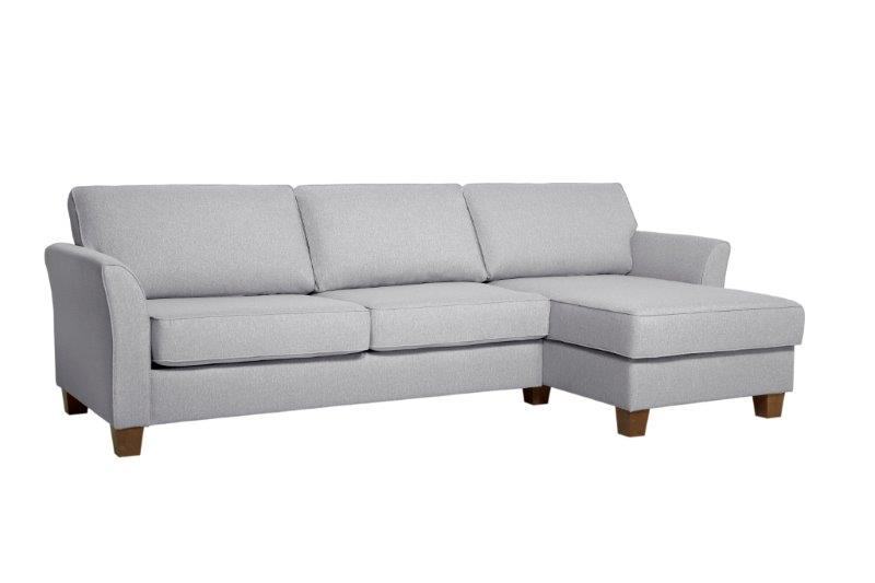 CARLSON chaiselongue (TROY 3 grey)softnord soft nord scandinavian style furniture interior design sofa bed chair pouf