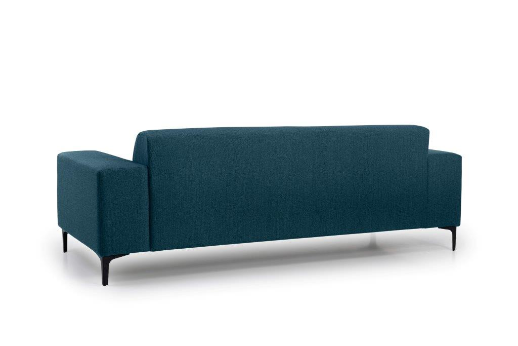 DIVA 3 seater (FAME 16.2 dark blue) back softnord soft nord scandinavian style furniture modern interior design sofa bed chair pouf upholstery
