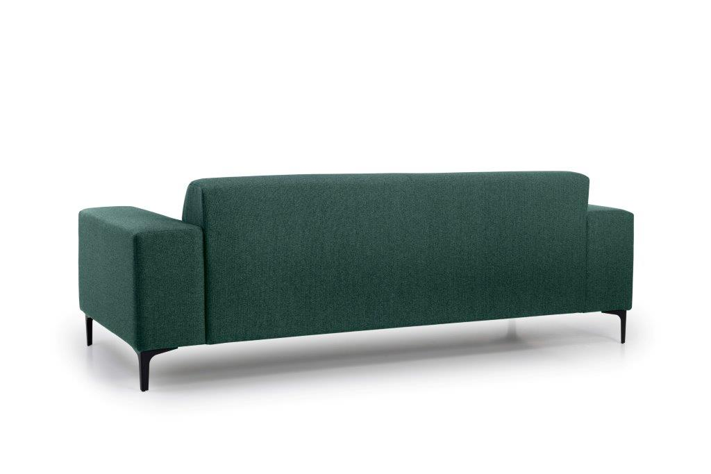 DIVA 3 seater (FAME 17 green) back softnord soft nord scandinavian style furniture modern interior design sofa bed chair pouf upholstery