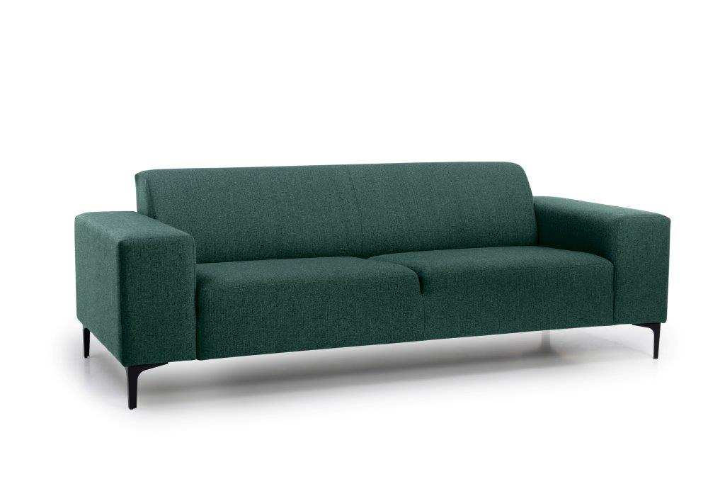 DIVA 3 seater (FAME 17 green) side softnord soft nord scandinavian style furniture modern interior design sofa bed chair pouf upholstery