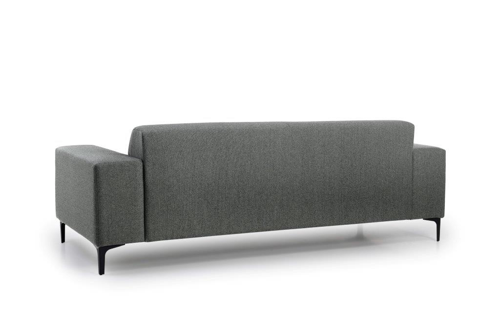 DIVA 3 seater (FAME 3.1 light grey) back softnord soft nord scandinavian style furniture modern interior design sofa bed chair pouf upholstery