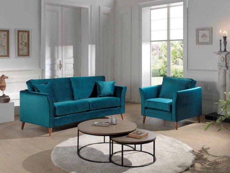 EDEN ROUND Brunei 30 petrol FR (high rez) softnord soft nord scandinavian style furniture modern interior design sofa bed chair pouf upholstery