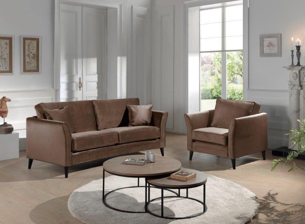 EDEN ROUND (TORO cappuchino) (high rez) black legs softnord soft nord scandinavian style furniture modern interior design sofa bed chair pouf upholstery