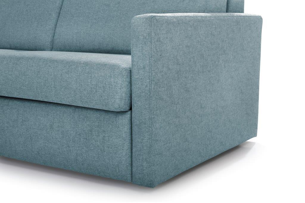 ELBEKO 2 seater arm C (GUSTO 29 sapphire) arm softnord soft nord scandinavian style furniture modern interior design sofa bed chair pouf upholstery