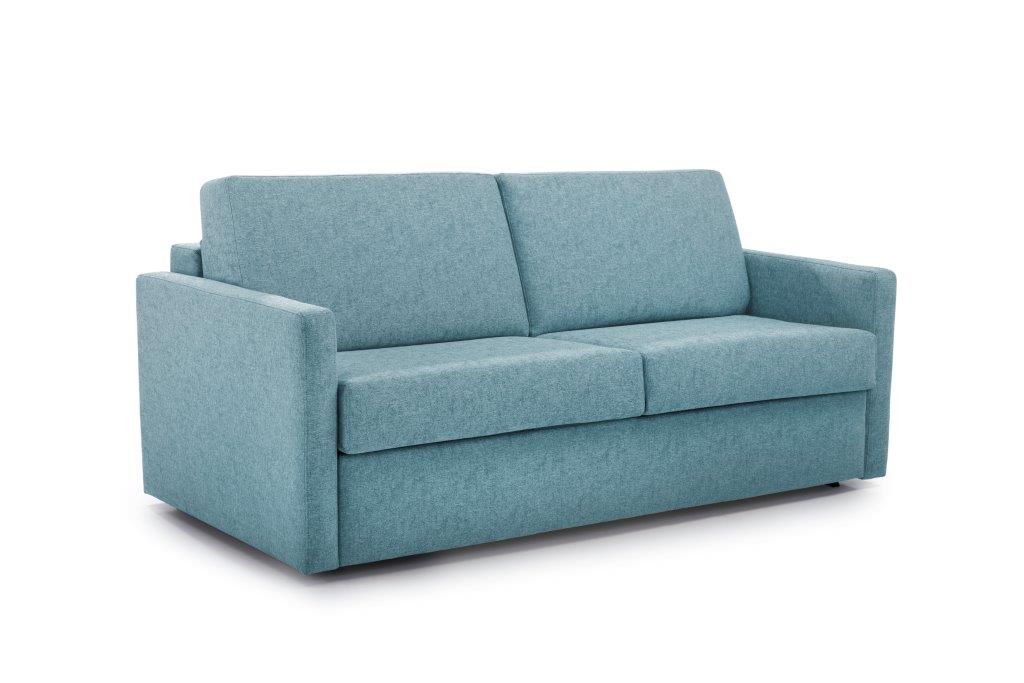 ELBEKO 2 seater arm C (GUSTO 29 sapphire) side softnord soft nord scandinavian style furniture modern interior design sofa bed chair pouf upholstery