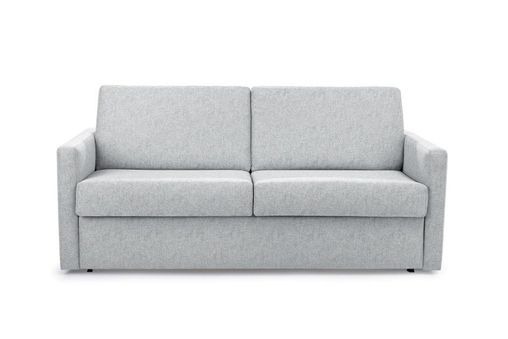 ELBEKO 2 seater arm C (GUSTO 4 sand) front softnord soft nord scandinavian style furniture modern interior design sofa bed chair pouf upholstery
