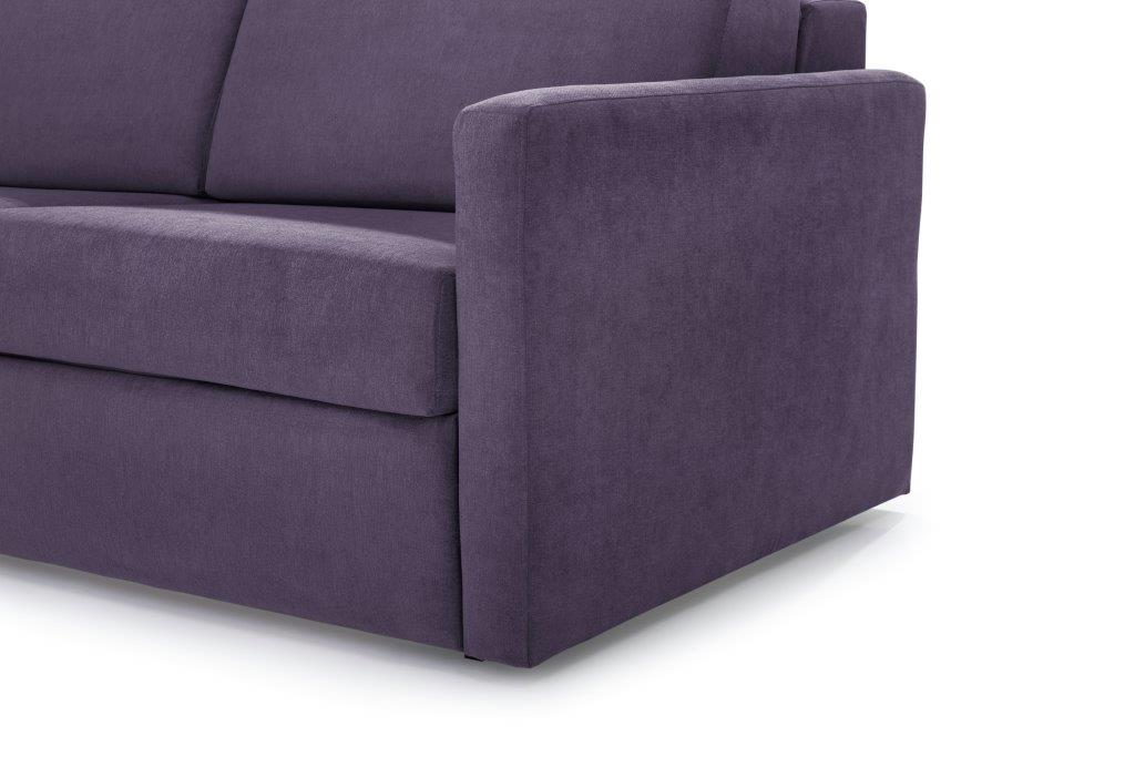 ELBEKO 2 seater arm C (ORINOCO 15 purple) arm softnord soft nord scandinavian style furniture modern interior design sofa bed chair pouf upholstery