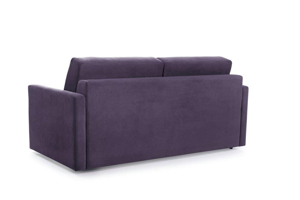 ELBEKO 2 seater arm C (ORINOCO 15 purple) back softnord soft nord scandinavian style furniture modern interior design sofa bed chair pouf upholstery