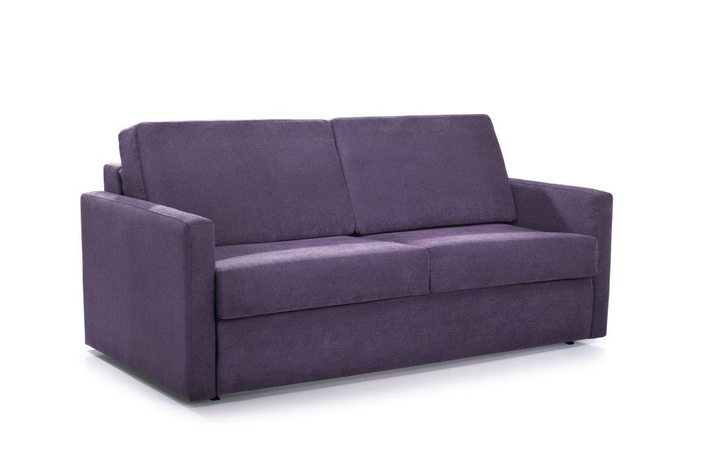 ELBEKO 2 seater arm C (ORINOCO 15 purple) side softnord soft nord scandinavian style furniture modern interior design sofa bed chair pouf upholstery
