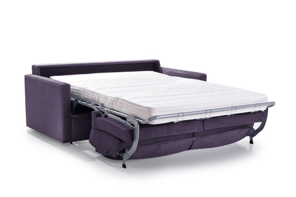 ELBEKO 2 seater arm C (ORINOCO 15 purple) unfolded softnord soft nord scandinavian style furniture modern interior design sofa bed chair pouf upholstery
