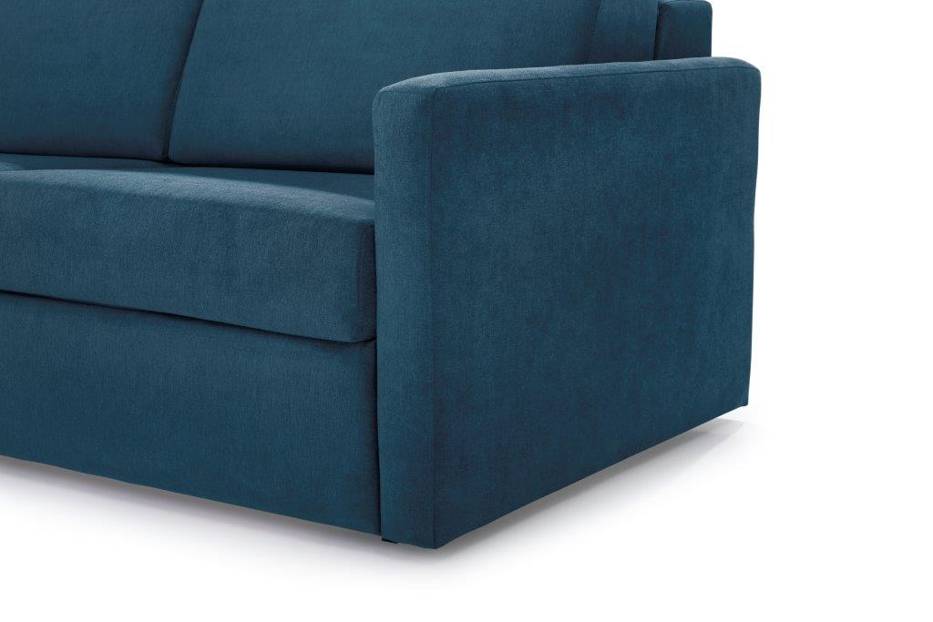 ELBEKO 2 seater arm C (ORINOCO 16 blue) arm softnord soft nord scandinavian style furniture modern interior design sofa bed chair pouf upholstery
