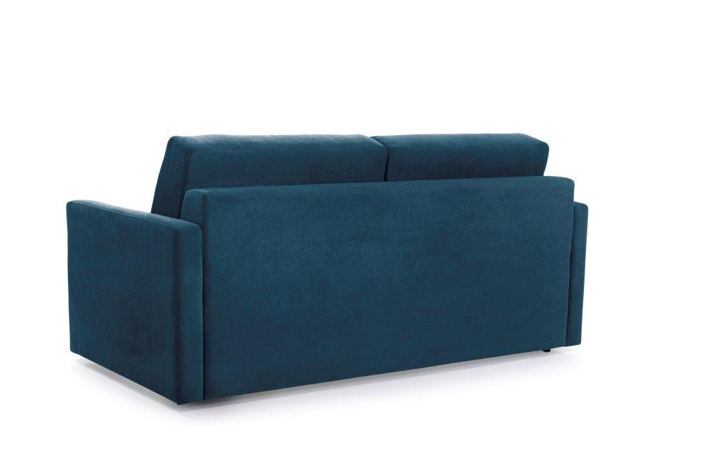 ELBEKO 2 seater arm C (ORINOCO 16 blue) back softnord soft nord scandinavian style furniture modern interior design sofa bed chair pouf upholstery